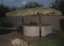 Two Pole Palapa Construction